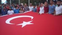 GEBZE VE DARICA'DA TERÖRE TEPKİ EYLEMLERİ