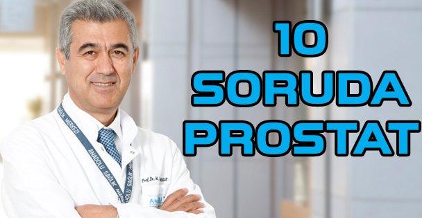 10 soruda prostat