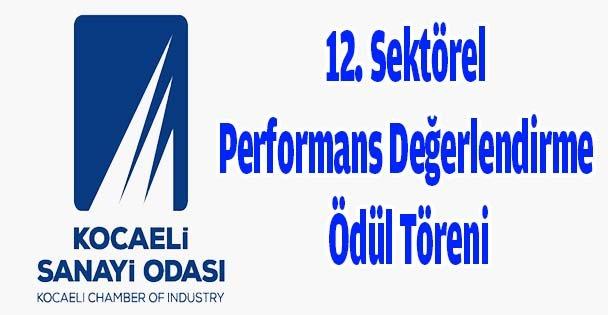 12. Sektörel Performans Değerlendirme Ödül Töreni