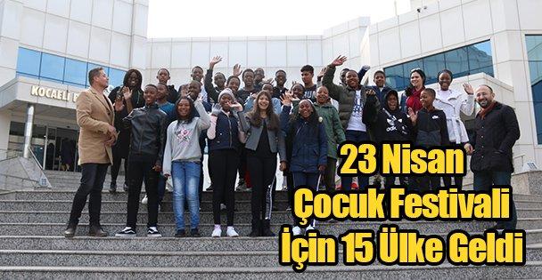 15 Ülke Kocaeli'de