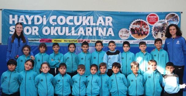 28 bin 8 çocuğa spor eğitimi