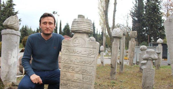 2. Abdülhamid'in hocasının kayıp mezar taşı bulundu