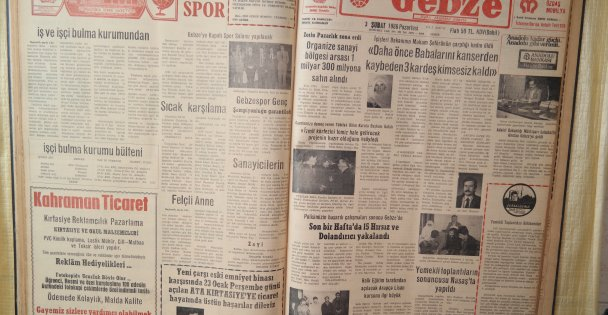 32 yıl önce Gebze'de neler oldu?