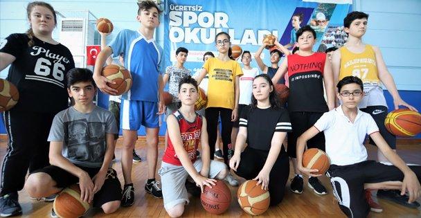 41 binden fazla öğrenci sporla tanıştı