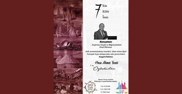 7Kıta 7Kültür 7insan Semineri