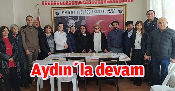 ADD Gebze, Aydın'la devam