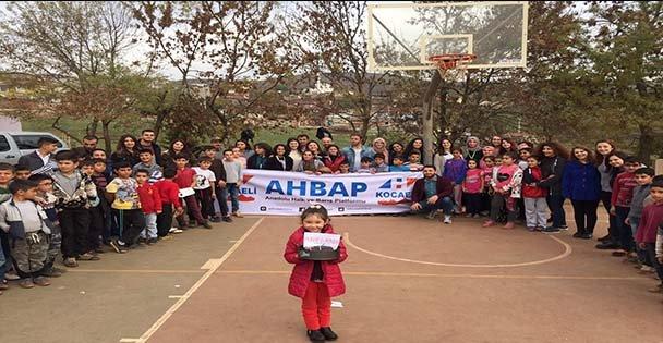 AHBAP Kocaeli'den Ata'ya Fidan
