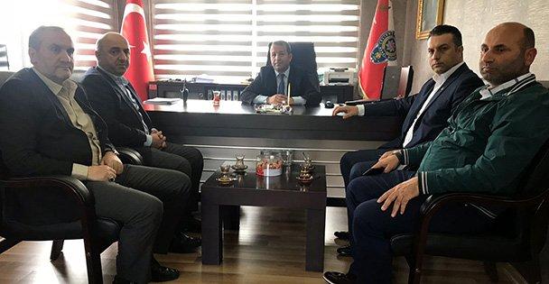 AK Darıca'dan Emniyet'e seçim güvenliği ziyareti
