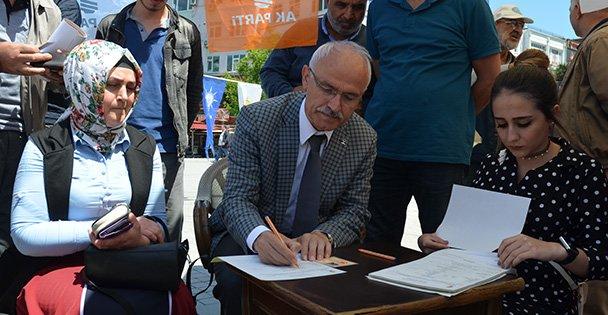 AK Parti Gebze  7 bine ulaştı