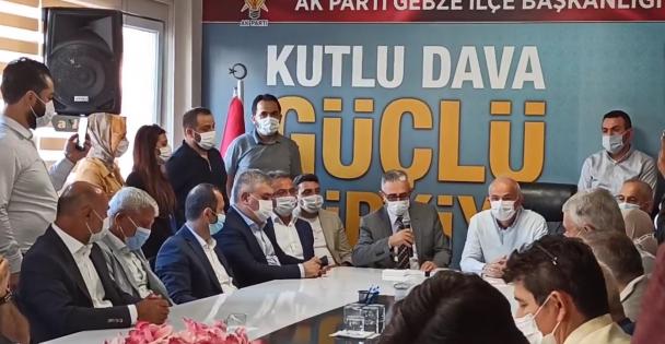 AK Parti Gebze İlçe Başkanı adayı 'Recep Kaya'oldu