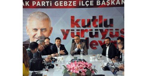 AK Parti Gebze'de hedef 13 bin kişi