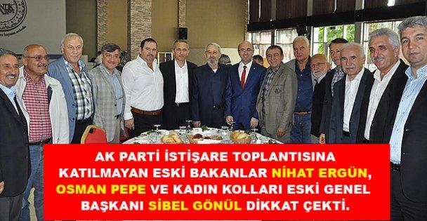 AK Parti istişare kurulu toplandı