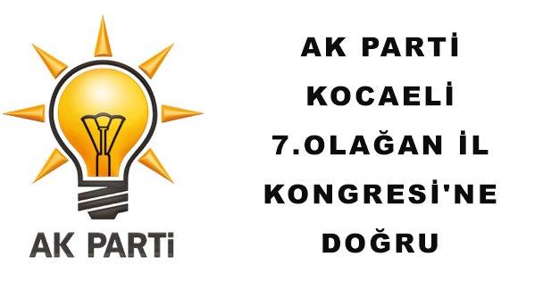 AK Parti Kocaeli 7.Olağan İl Kongresi'ne Doğru