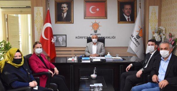 AK Parti Kocaeli Milletvekili Zeybek'ten ziyaret