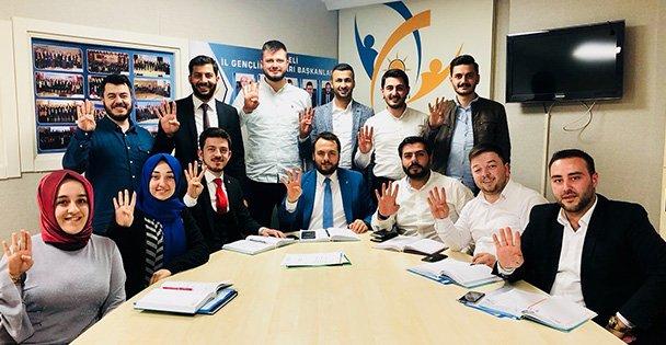 AK Partili gençler çalışmalara başladı