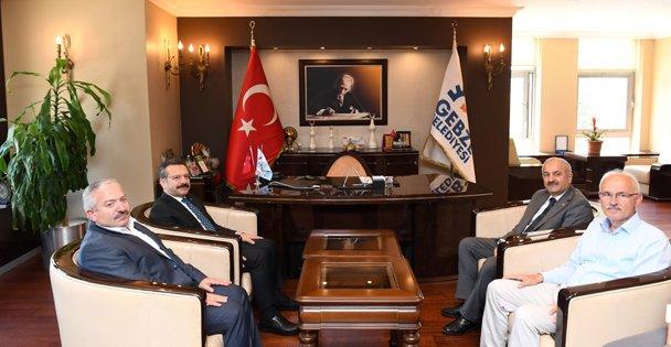 Aksoy, Büyükgöz'e iade-i ziyarette bulundu
