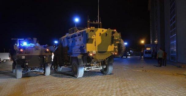 Askeri konvoya saldırı: Şehit ve yaralılar var