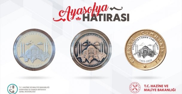 Ayasofya-i Kebir'e özel para basıldı
