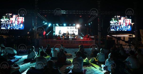 Ayasofya'nın açılışı için etkinlik düzenlendi