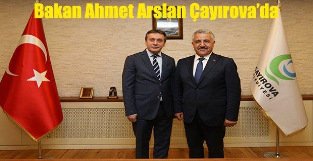 Bakan Ahmet Arslan Çayırova'da