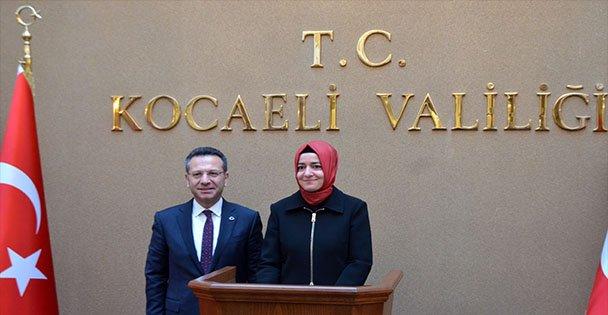 Bakan Kaya'dan Vali Aksoy'a Ziyaret