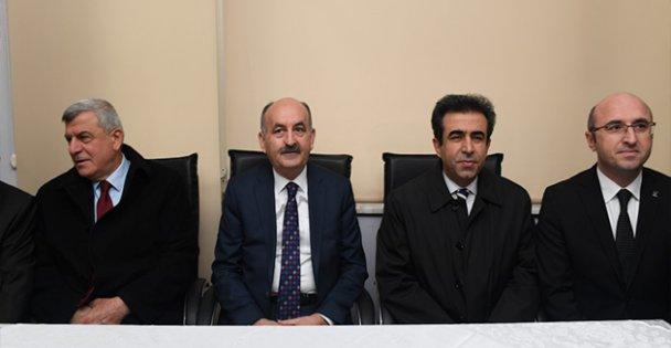 Bakan Müezzinoğlu ve Vali Güzeloğlu'dan Ziyaret