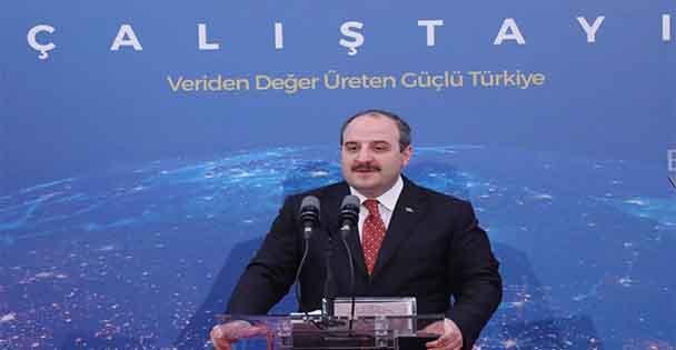 Bakan Varank, Ulusal Yapay Zeka Stratejisi Çalıştayında konuştu
