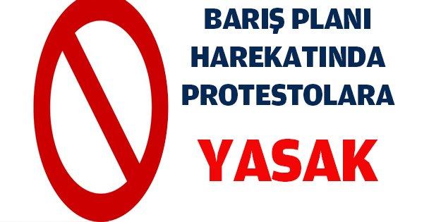Harekat ile ilgili tüm eylemlere yasak!