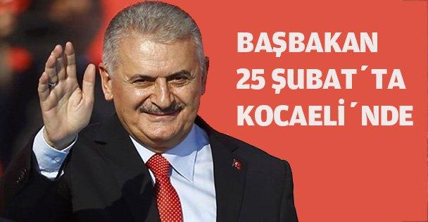 Başbakan 25 Şubat'ta Kocaeli'nde