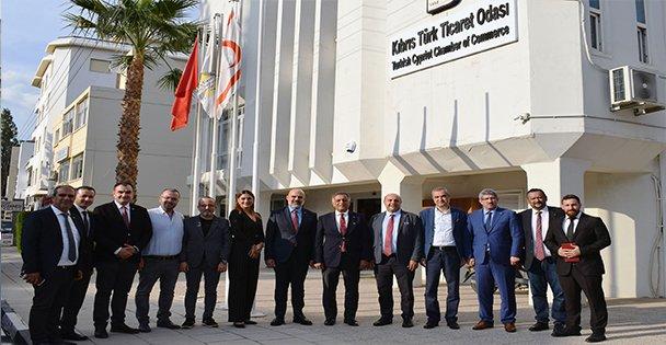 KOTO'dan, SAİK yönetimiyle Kıbrıs'a iş ziyareti