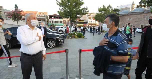 Başkan Büyükgöz, Gebzeli  hemşerileriyle bayramlaştı