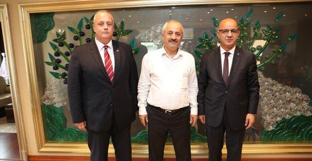 Başkan Büyükgöz MHP İl Başkanını ağırladı