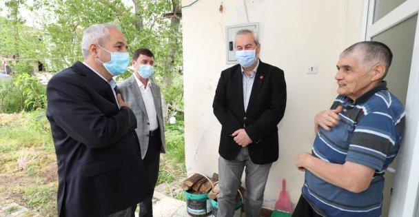 Başkan Büyükgöz'den Bayram Öncesi Köy Ziyaretleri