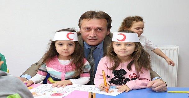 Başkan Demirci, Çocuklarla Etkinliklere Katıldı
