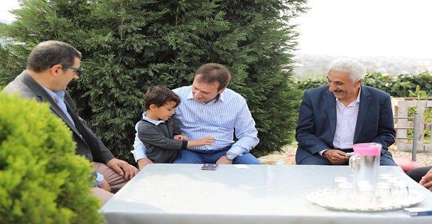 Başkan Demirci, Emek Mahallesi'nde İncelemelerde Bulundu