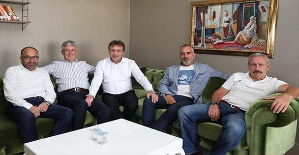 Başkan Demirci, Meslektaşlarıyla Buluştu
