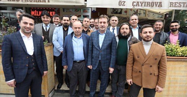 Başkan Demirci, Uğur Mumcu Caddesi Esnafıyla Buluştu