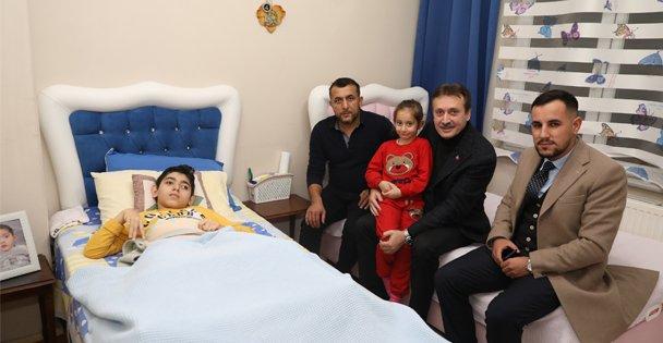 Başkan Demirci'den Anlamlı Ziyaret