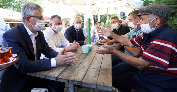Başkan,  Gebze'nin köyülerinde vatandaşla buluştu