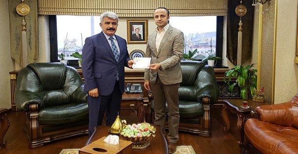Başkan Havuç'dan Prof. Dr. Sadettin Hülagü'ya Davet.