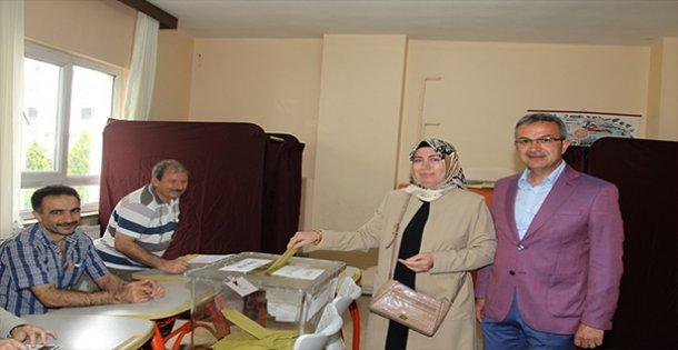 Başkan Köşker 1291 nolu sandıkta oy kullanacak