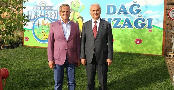 Başkan Macera'yı Çok Beğendi