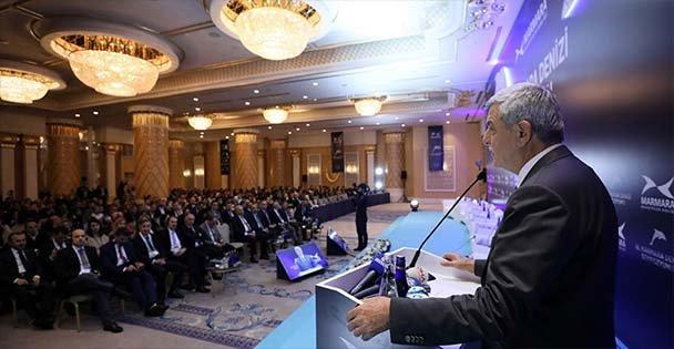 Başkan Marmara Denizi Sempozyumu'nda konuştu