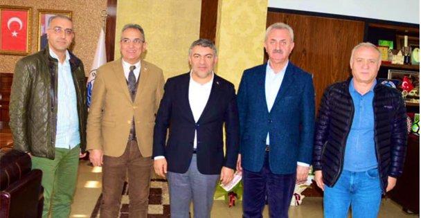 Başkan Şayir, GTO Başkanı Çiler'i ağırladı