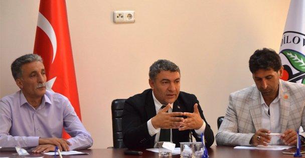 """Başkan Şayir, 'Yakında müjdeleri peş peşe sıralayacağız"""""""