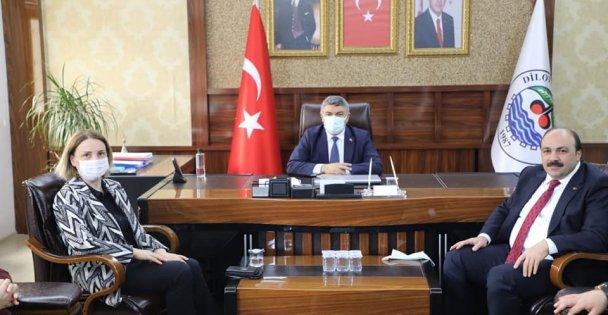 Başkan Şayir, Zeybek'i ağırladı