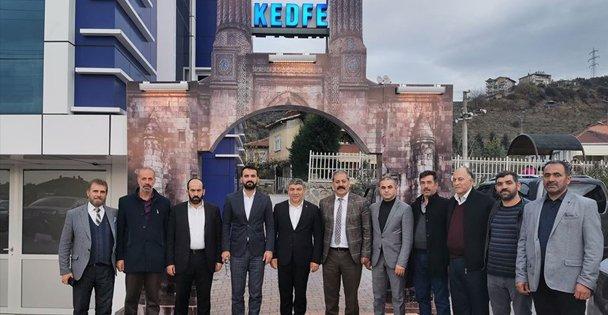 Başkan Şayir'den KEDFE'ye ziyaret