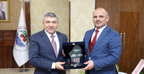 Başkan Şener'den, Başkan Şayir'e ziyaret