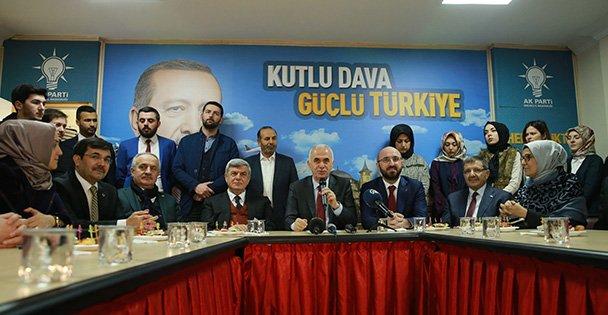 Başkan yardımcısı Erol Kaya Kocaeli'nde