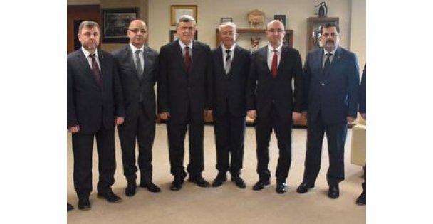 Başkanlardan, Güzeloğlu ziyareti